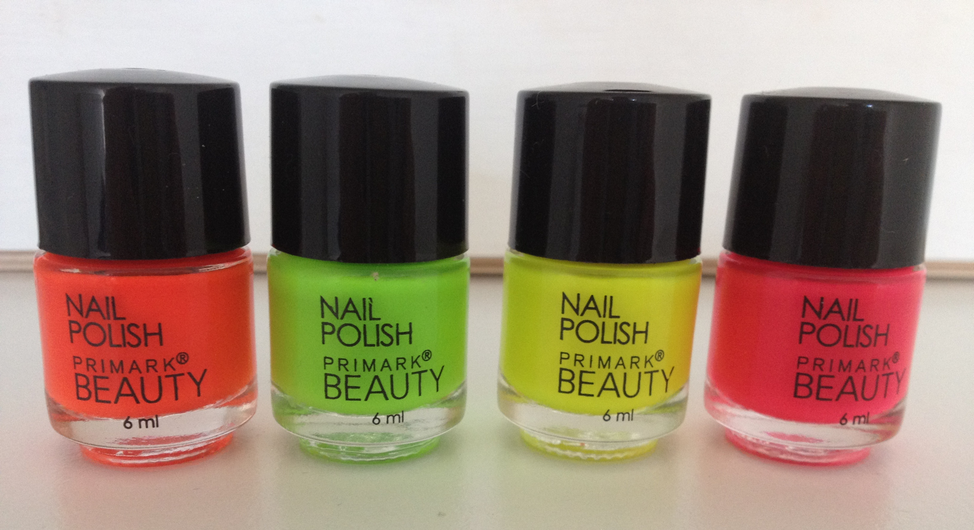 Primark Neon Nail Varnish Collection – Review | According To Gem
