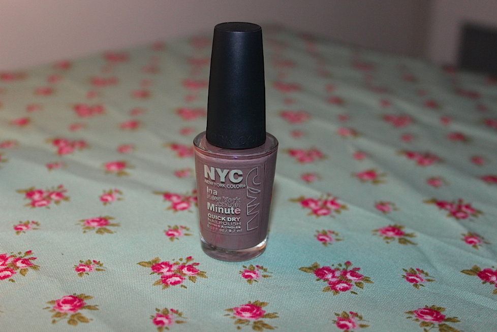 Review – New York Color (NYC) in a New York Minute Nail Polish in ...