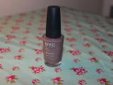 Review – New York Color (NYC) in a New York Minute Nail Polish in Park Ave