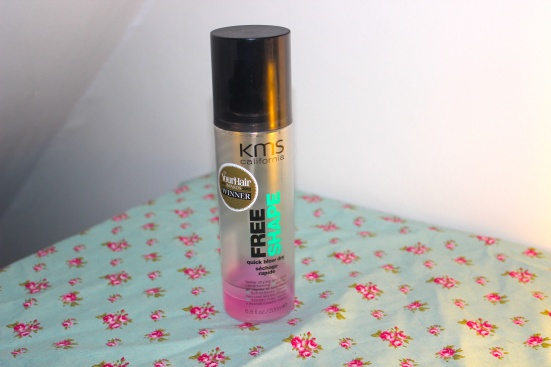 KMS Free Shape Quick Blow Dry Lotion Spray Top Favourite Beauty Hair Products 2012