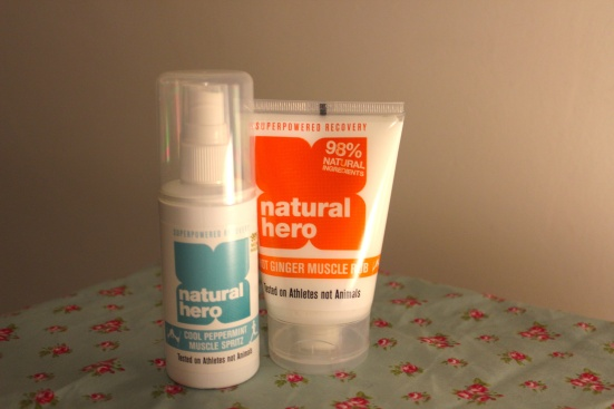 Natural Hero Sports Products Healing Warming