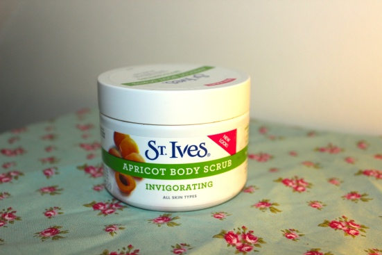 St Ives Apricot Body Scrub Top Favourite Beauty Products Of 2012