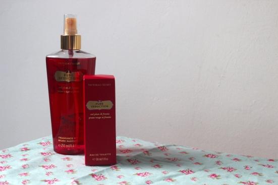 Victorias Secret Pure Seduction Fragrance Perfume eau de toilette plum freesia