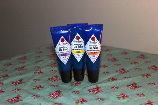 Jack Black Lip Balm Trio