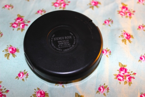 MAC Mineralize Skinfinish MSF Stereo Rose Back