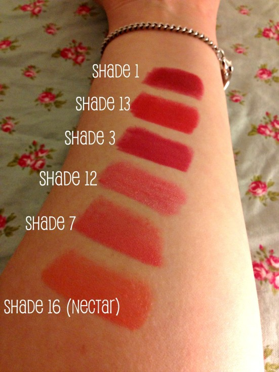 MUA Lipstick Swatches Budget Review Beauty