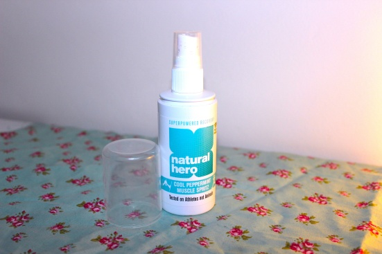 Natural Hero Cool Peppermint Muscle Spritz Review