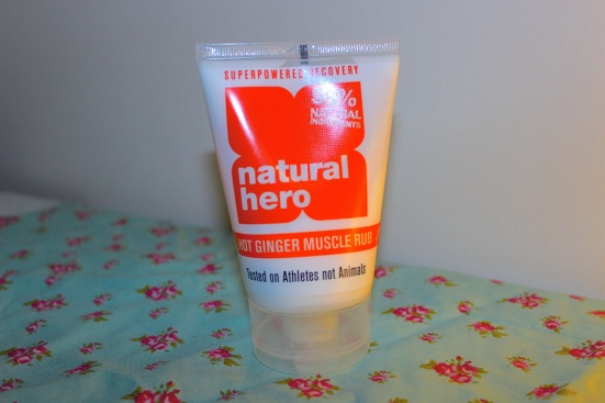 Natural Hero Hot Ginger Muscle Rub Review