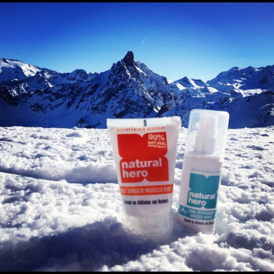 Natural Hero Ski Sport Products Slopes Review Muscle Rub Spritz