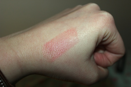 Neutrogena Healthy Blush Lip Balm Swatch Revitalizing Tinted