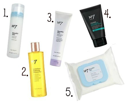 No7 Skincare Top 5 Boots Money Off Voucher