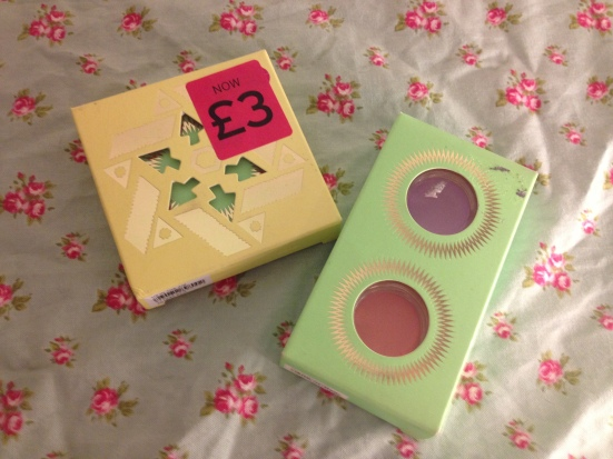topshop louise gray makeup sale collection up in the air blush duo wave machine eye cream