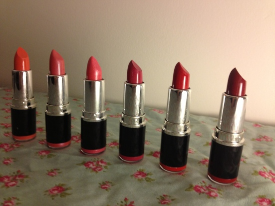 MUA Lipstick Swatches Review Budget Beauty