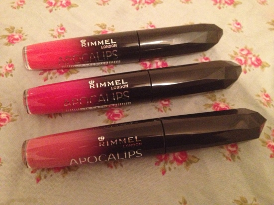 Rimmel Apocalips Lip Colour Lacquer LIpstick Gloss Nova Apocalyptic Stellar Swatches Review