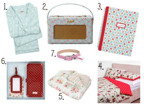 Wednesday Wishlist Cath Kidston Edition Sponsored Post