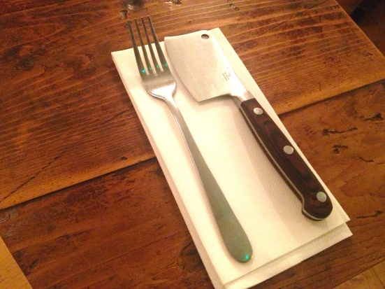 Flat Iron Cutlery steak london soho restaurant review