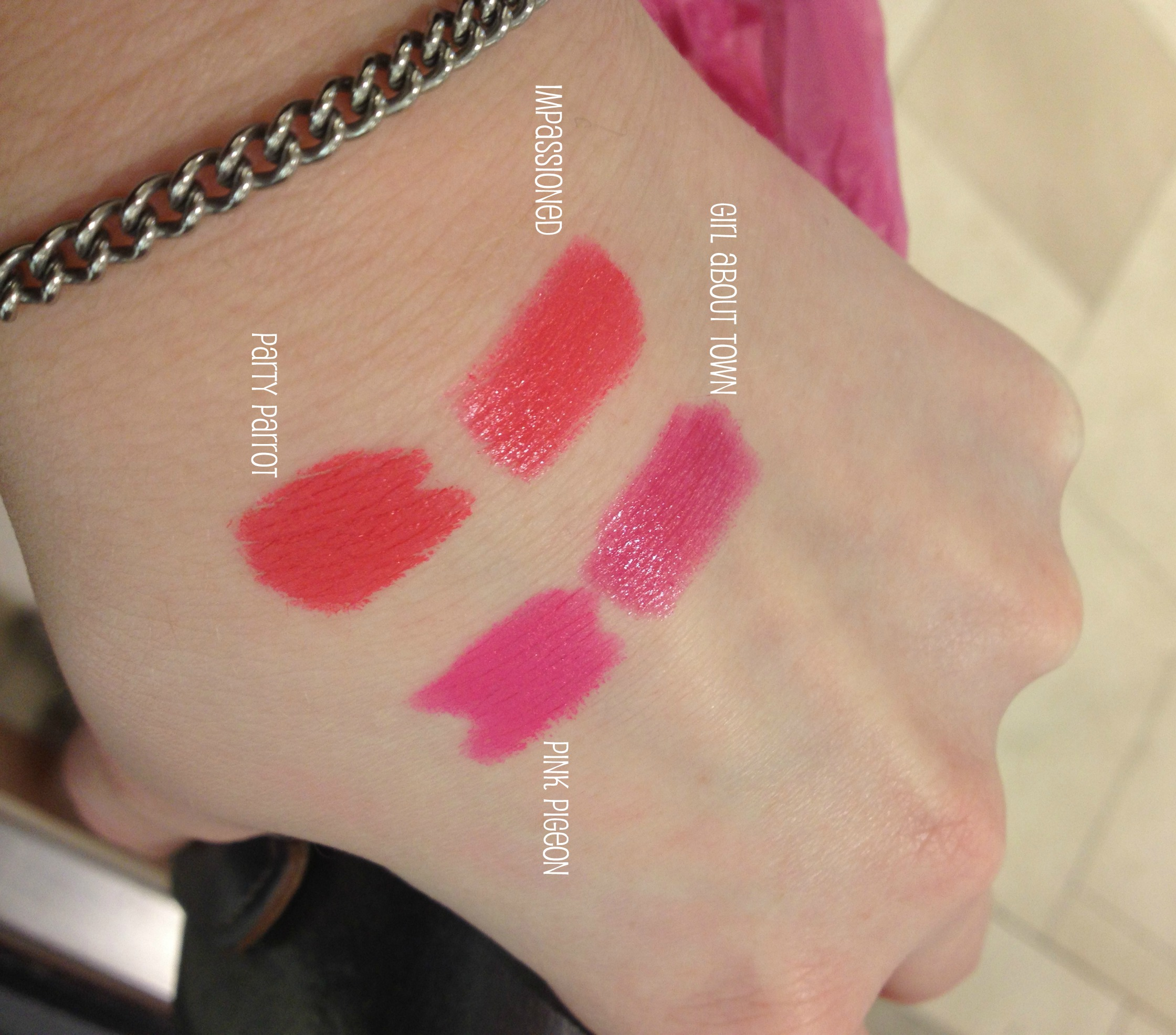 mac impassioned vs girl about town