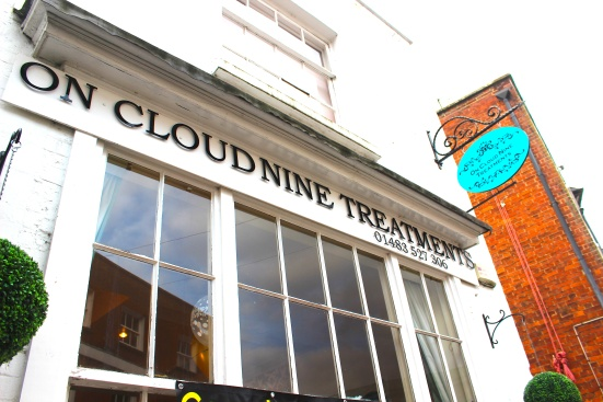On Cloud Nine beauty godalming treatment massage review front