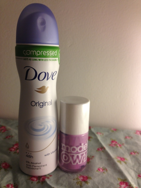 dove compressed deodorant new review