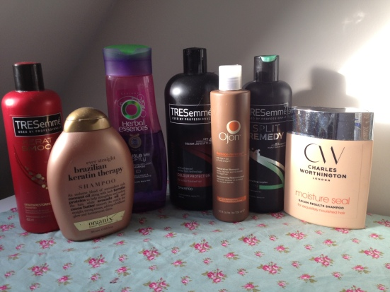 Haircare amnesty shampoo conditioner spending ban