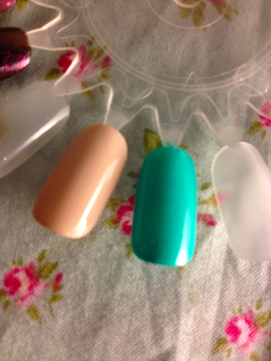 Barry M Gelly High Shine Nail Paint Polish Varnish Lychee Greenberry Swatched