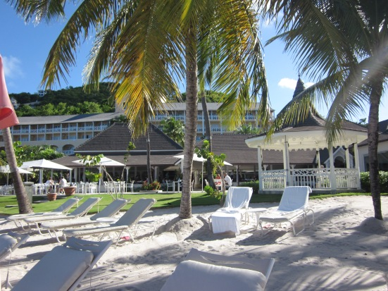 Beach Area The BodyHoliday St Lucia review