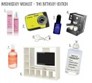 Wednesday Wishlist – The Birthday Edition