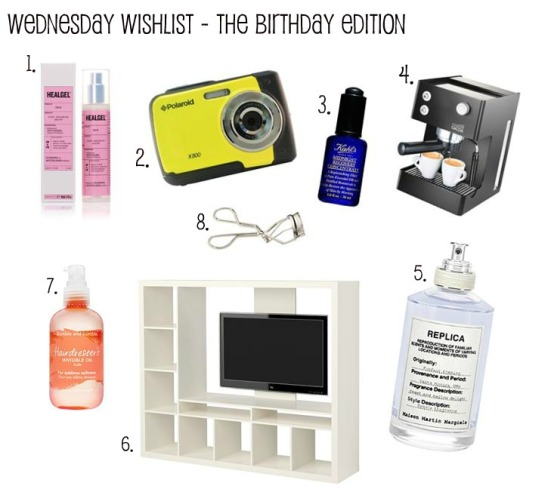 Birthday Wednesday Wishlist