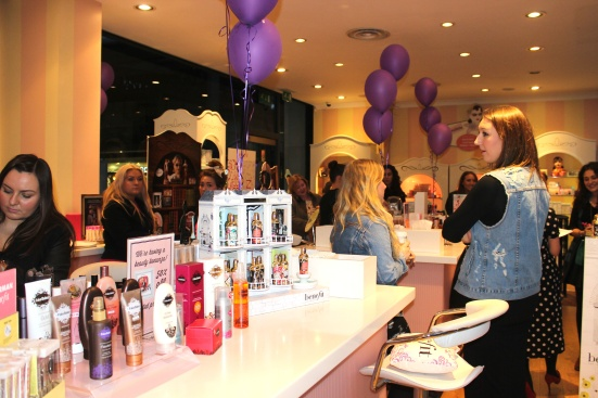 Benefit Fake Up Launch Event