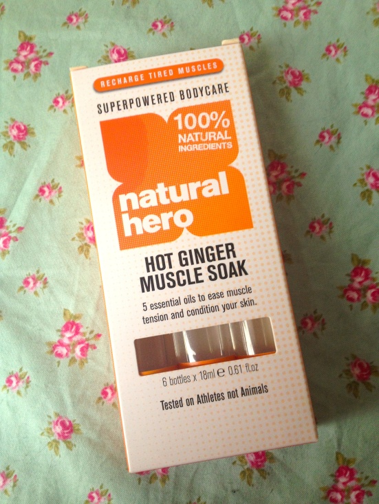 Natural Hero Hot Ginger Muscle Soak Review