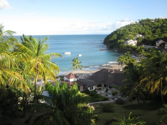 View from Spa Area The BodyHoliday St Lucia review