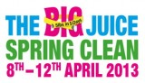 My Big Juice Spring Clean Diary – Day 1