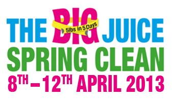 BJSC logo juicemaster detox spring clean jason vale diary day 1