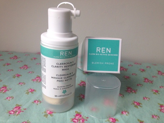 REN Clearcalm 3 Clarity Restoring Mask Open Review Blemish Prone Skincare