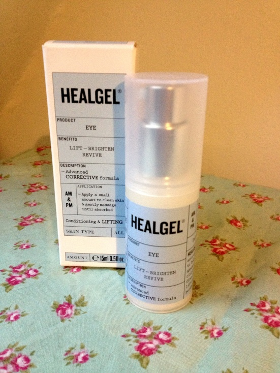 HealGel Eye packaging skincare anti ageing