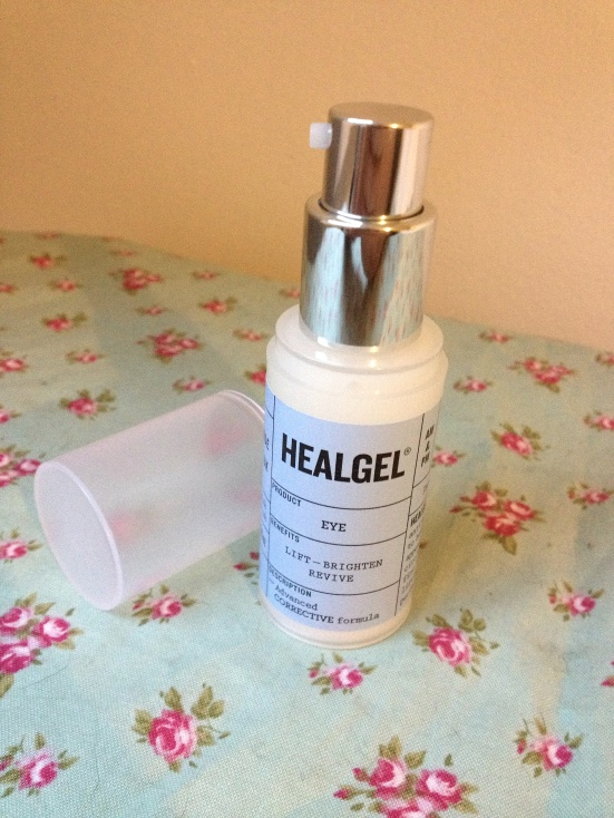 HealGel Nozzle packaging skincare eye anti ageing