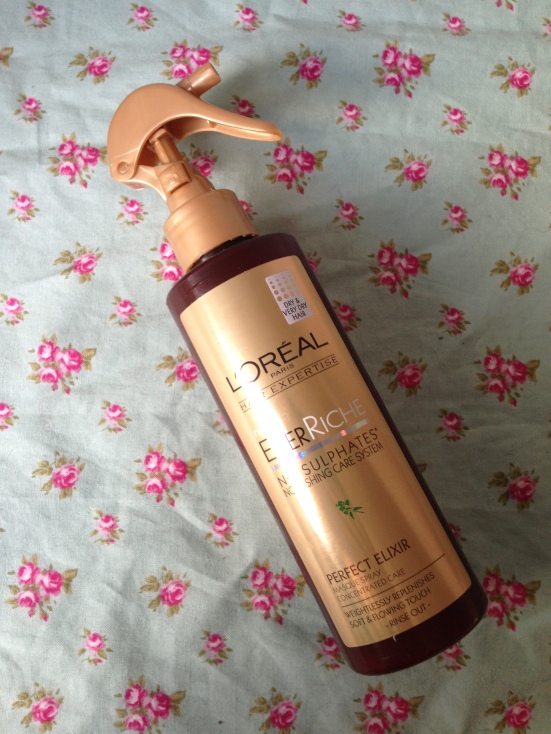 loreal ever riche perfect elixir conditioner haircare rinse