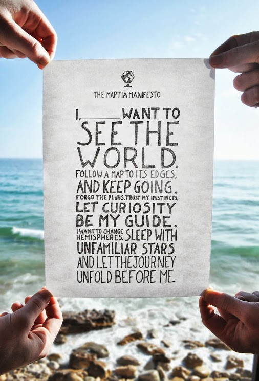 2014 resolutions I want to see the world