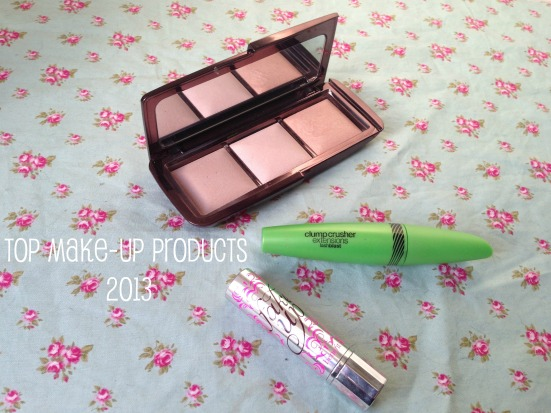 top favourite makeup products 2013 tagged hourglass ambient lighting palette covergirl clump crusher mascara benefit fake up concealer